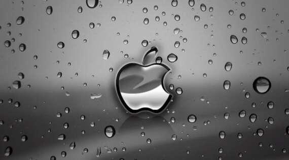 Apple dañado por líquido
